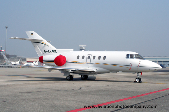 Elbe Air Lufttransport Hawker 850XP D-CLBH at Geneva (2007)