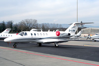 Cessna 525A CItationJet CJ2 D-IJOA at Geneva (2007)