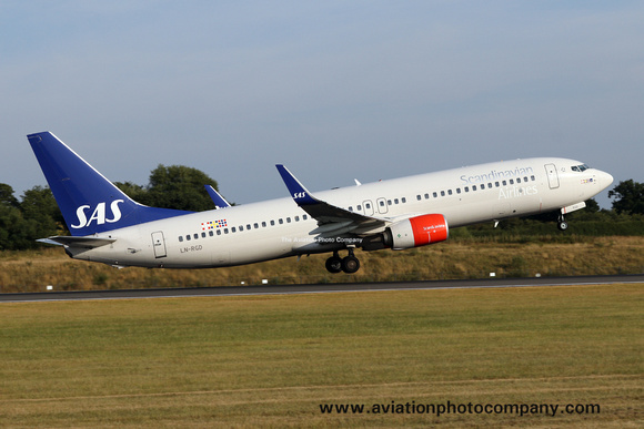 SAS Scandinavian Airlines System Boeing 737-86N LN-RGD (2018)