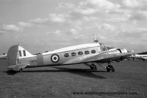 RAF Coningsby Station Flight Avro Anson C.19 TX176