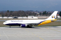 Monarch Airlines Airbus A300B4-605R G-MAJS at Geneva (2007)