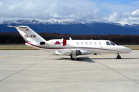 Jet Alliance Cessna 525A CitationJet CJ2 OE-FIN at Geneva (2007)