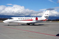 Jet Alliance Cessna 680 Citation Sovereign OE-GMM at Geneva (2007)