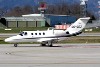 ASL Air Service Cessna 525 CitationJet CJ1 OO-CEJ at Geneva (2007)