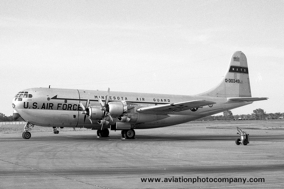 USAF MATS Minnesota ANG 109 ATS Boeing C-97G Stratofreighter 53-0349