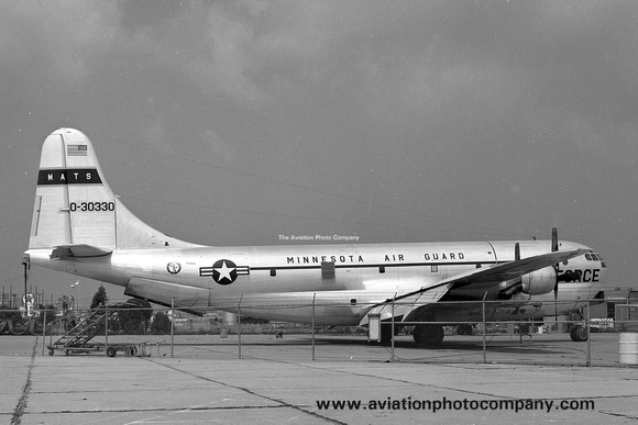 USAF Minnesota ANG 109 ATS Boeing C-97G Stratofreighter 53-0330 (1972)