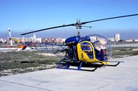 Spanish Interior Ministry Trafico Agusta-Bell 47G-3B-1 Bell 47G EC-DZK (1986)