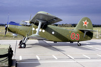 Russian Air Force Antonov An-2 03 (1992)