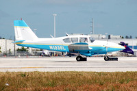 Piper PA-23 N1036L at Miami IAP (2008)