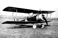 Royal Flying Corps Sopwith Strutter Biplane