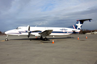 Alaska Central Express Beech 1900C N111AX at Anchorage (2016)