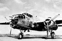 "USAAF 8th Air Force North American B-25J ""451"""