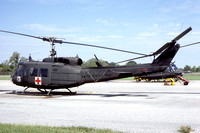US Army Alabama ArNG 1123 Med Co Bell UH-1h Iroquois 66-17084 (1985)