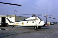 Los Angeles County Sheriff Sikorsky S-58 N74164 (1973)