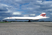 British Airways Concorde G-BOAE (1999)