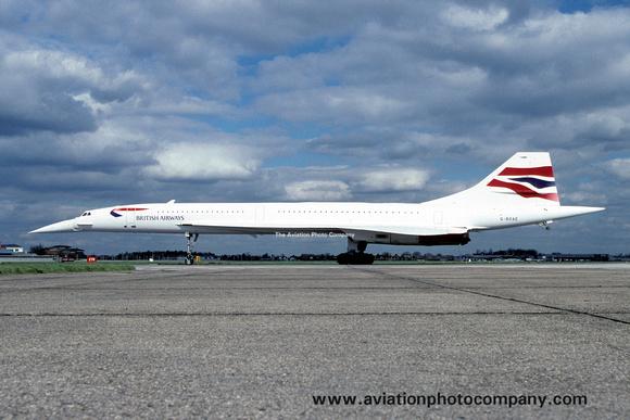 The Aviation Photo Company: Latest Additions &emdash; British Airways Concorde G-BOAE (1999)