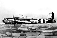 Captured German Air Force Heinkel He177A-5 TS439 Air to Air