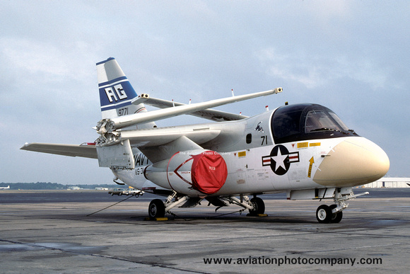 The Aviation Photo Company: S-3 Viking (Lockheed) &emdash; US Navy VS-31 Lockheed S-3A 159771/AG-71 (1976)