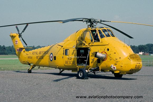 The Aviation Photo Company: Latest Additions &emdash; RAF 22 Squadron Westland Wessex HC.2 XR504 (1988)