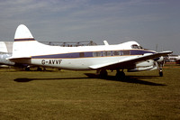 De Havilland Dove G-AVVF (1987)