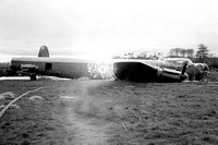 RAF Avro Lincoln B.2 Wd144 crashed (1961)
