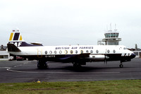 British Air Ferries Vickers Viscount G-AOYS (1982)