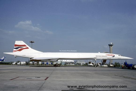 The Aviation Photo Company: Latest Additions &emdash; British Airways Concorde G-BOAB (1999)