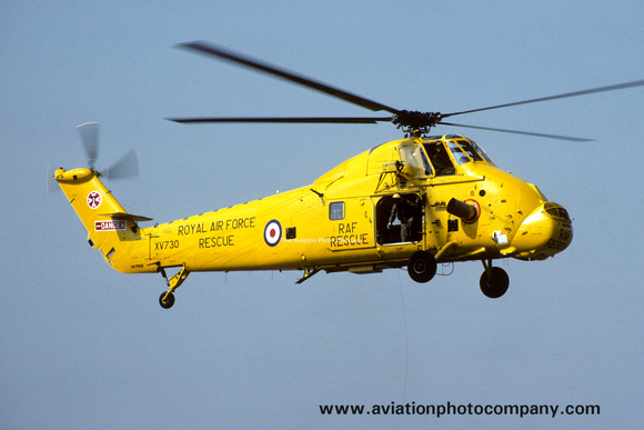 The Aviation Photo Company: Latest Additions &emdash; RAF 22 Squadron Westland Wessex HC.2 XV730 (1983)