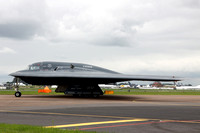 USAF 509th Bomb Wing Northrop B-2A Spirit 82-1068/WM at RIAT Fairford (2012)