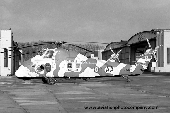 The Aviation Photo Company: Latest Additions &emdash; RAF 72 Squadron Westland Wessex HC.2 XV719/AA (1970)