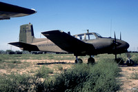 US Army Alabama ArNG Beech U-8D 57-3098 at MASDC Davis Monthan