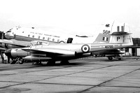 RAF 1 ANS Gloster Meteor NF(T).14 WS760/P