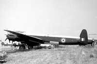 RAF Avro Lincoln B.2 RF342 at Southend (24.07.1967)