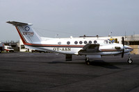 DFDS Beech King Air 200 OY-ASN (1982)