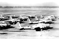 RAF Boeing B-17E Flying Fortress Apron View