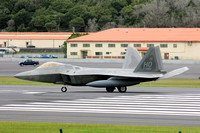 USAF 49th Fighter Wing Lockheed F-22A Raptor 05-4099/HO at Lajes (2012)
