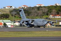 USAF 436/512 AW McDonnell Douglas C-17A 07-7173 at Lajes (2015)