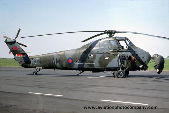The Aviation Photo Company: Latest Additions &emdash; RAF 72 Squadron Westland Wessex HC.2 XR523/AM (1978)