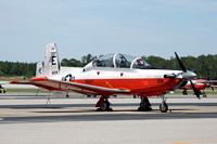 US Navy TAW-5 Beechcraft T-6B 166019/E-019 at NAS Whiting Field (2013)