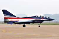 Chinese Air Force August 1st Team Chengdu J-10SY 11 at Zhuhai (2012)