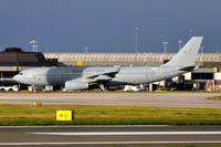 RAF Airbus Voyager MRTT018 at Manchester Airport (2012)