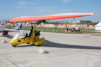 Apollo DeltaJet 2 Microlight 9H-UDJ at Malta Airshow (2012)