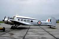 RAF 13 Group Comms Flight Avro Anson C.19 VM365