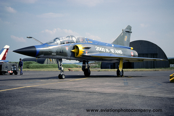 The Aviation Photo Company: Latest Additions &emdash; French Air Force EC4/1 Dassault Mirage 2000N 340/4-AA (1998)