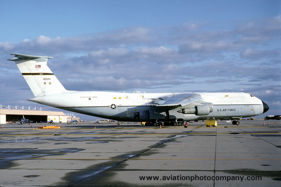 The Aviation Photo Company: C-5 Galaxy (Lockheed) &emdash; USAF 60 MAW Lockheed C-5A Galaxy 68-0223 (1983)