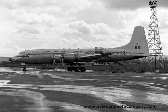 The Aviation Photo Company: Latest Additions &emdash; RAF 99/511 Squadron Bristol Britannia C.1 XM519