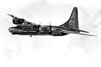 USAF Consolidated B-32 Dominator 42-108522 Air to Air