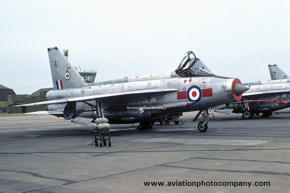 The Aviation Photo Company: 5 Squadron &emdash; RAF 5 Squadron English Electric Lightning F.6 XS903/A (1975)