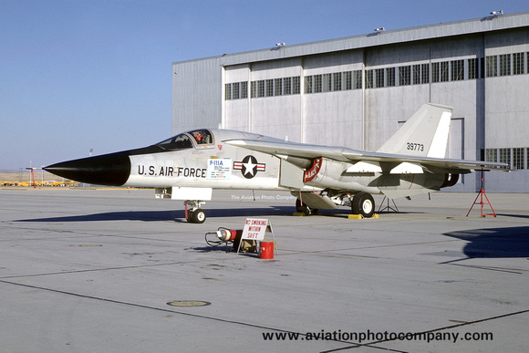 The Aviation Photo Company: F-111/EF-111 Aardvark/Raven (General Dynamics) &emdash; USAF AFFTC GD F-111A 63-9773 (1969)