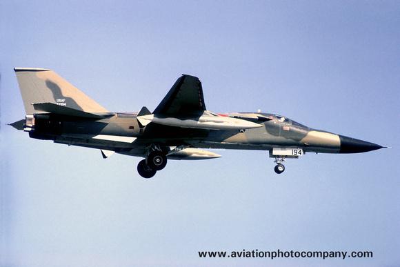 The Aviation Photo Company: F-111/EF-111 Aardvark/Raven (General Dynamics) &emdash; USAF 509th Bomb Wing GD FB-111A 67-7194 (1972)